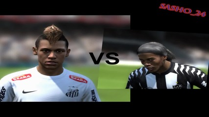 Ronaldinho vs Neymar - Skill Moves Battle #1