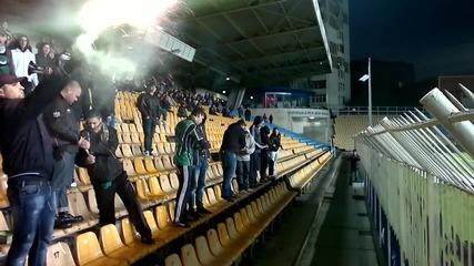 Нефтохимик - Ботев (враца) 1/16 финал за купата. Зелените фенове
