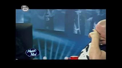 Music Idol 3 - Ясновидецът Тони Янакиев, Който Нямаше Сили Да Изпее Нещо