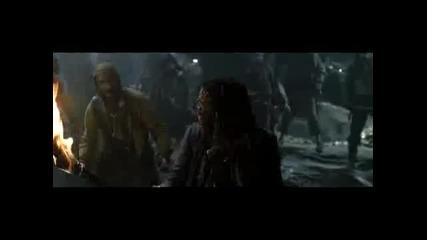Карибски Пирати - Проклятието на Черната Перла Част 4 ( Бг Аудио )