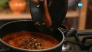 Супа с кестени гъби и ечемик - Бон Апети (08.11.2016)