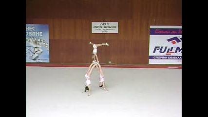Акробатика - 2 Ден, Смесено Тройка Цска 2010г.