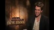 Robert Pattinson on New Moon & Eclipse :)