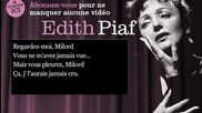 Edith Piaf - Milord - Paroles ( lyrics )