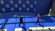 Belgium: Macron, Merkel arrive for in-person NATO summit