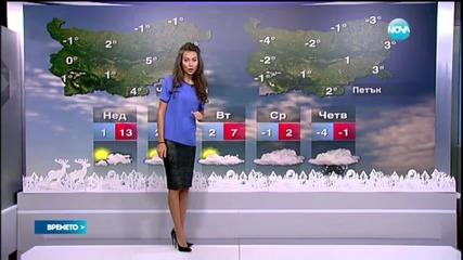 Прогнозата за времето винаги ще бъде приятна с Николчето - Никол Станкулова