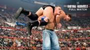 Джон Синa срещу JBL: Royal Rumble 2009 WWE