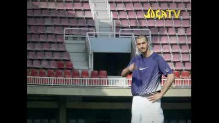 - Nike - Joga Bonito - Cristiano Ronaldo Vs Zlatan - Hosted By Eric Cantona