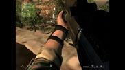 Eлиминиране на врагове от снайперска позиция в Sniper Ghost Warrior