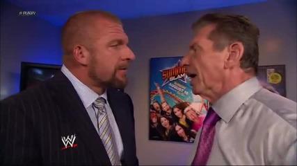 Stephanie Mcmahon suggests Daniel Bryan undergo a makeover: Raw, July 29, 2013