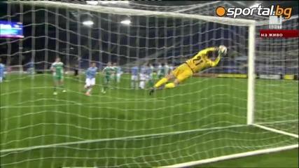 Лудогорец направи историческа победа над Лацио с 0:1