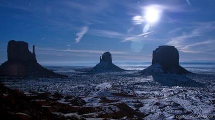 Защо пълнолунието се вижда по-ясно през зимата?