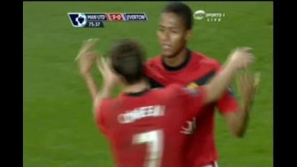Манчестър Юнайтед - Евертън 3:0