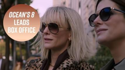 ''Бандитките на Оушън'' дебютира на върха на американската box office класация