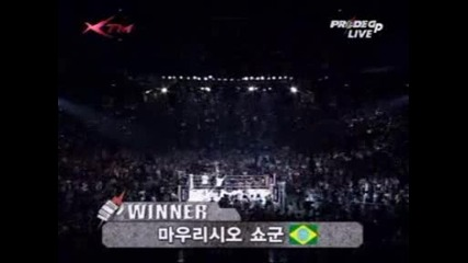 Pride Gp 2005 - Shogun Vs Arona