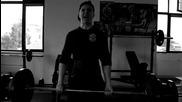 140кг. тяга - Част от тренировка за гръб #2 #nostraps