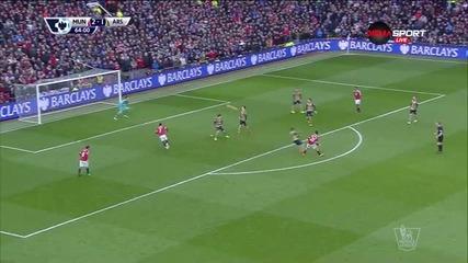 Ерера вкара трети гол за Манчестър Юнайтед