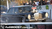 Wild Mercedes - Blown V8 powered