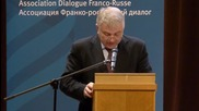 France: Franco-Russian Dialogue Association discuss Moscow's key role in Syria
