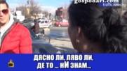 Няма такъв смях просто… гледайте сега как тези роми обясниха как е станала катастрофата!