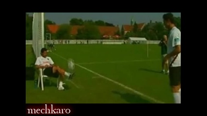 Figo and Ronaldo Freestyle at Portugal 2006