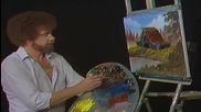 S03 Радостта на живописта с Bob Ross E11 - селски хамбар ღобучение в рисуване, живописღ
