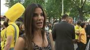 Sandra Bullock At 'Minions' Premiere In London