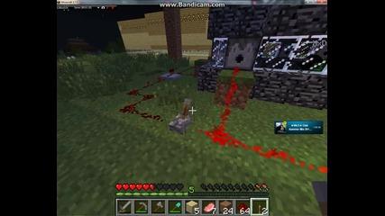 Minecraft Fail с играене с Ghast