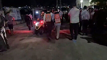 State of Palestine: Ambulances queue up in Givat Ze'ev after deadly synagogue bleacher collapse
