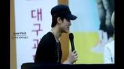 [fancam] 120818 C.a.p Daegu Fan Signing