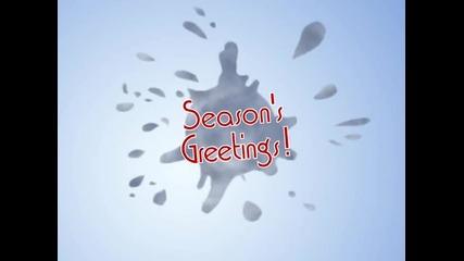 Season's Greetings Snowball - Готова Windows Movie Maker анимация