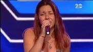 Ивон Владимирова пее повече от прекрасно и изуми журито и публиката - The X Factor Bulgaria 2014