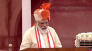 India: Modi pledges victory over coronavirus during Independence Day celebrations