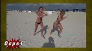 Брутални майтапи на плажа! Скрита камера :D