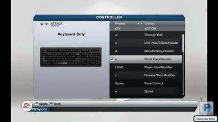 Fifa 13!!! настройка на контролери за Pc (keyboard)