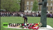 UK: Russian veterans honoured during V-Day celebrations at London's Imperial War Museum