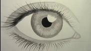 Как да нарисуваме реалистично око