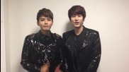 "Ryeowook and Kyuhyun's Message for Sjm's comeback ""break down"""