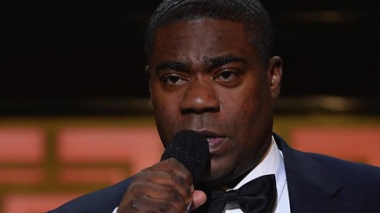 Tracy Morgan Using a Cane To Walk One Year After Car Crash