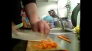 Така се реже морков