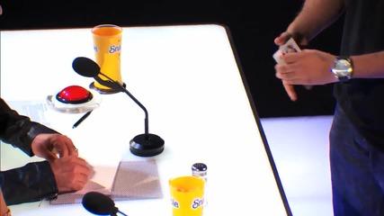 Момче с невероятно ловки ръце смая журито и публиката - America's Got Talent 2014