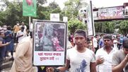 Bangladesh: Protesters gather in Dhaka to condemn attacks on Hindus