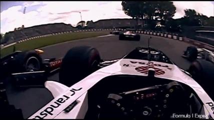 F1 Гран при на Канада 2013 - избрани моменти [hd]