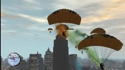 Gtaiv Tbogt - Parachuting to Yacht from Rotterdam Tower [pc]