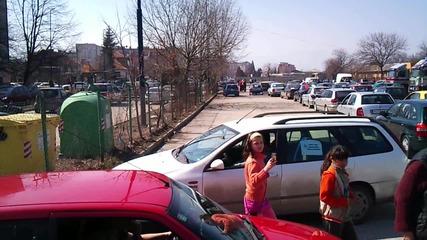 Протеста в Пазарджик - Няма такава лудница!!!