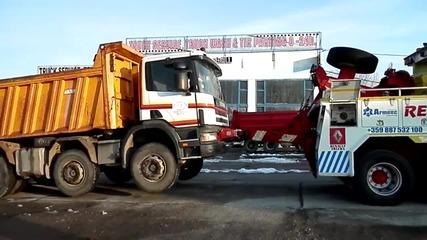 Нови устройства - обучение на персонала в Автокомплекс Димитров за работа с Recovery Truck част 3