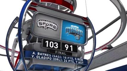 Обзор на кръга в НБА, 2 април