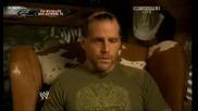 Raw 04/08/08 - Hbk Говори За Завръщането Си