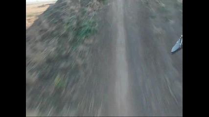 Мотокрос на Лесново с камера на каската