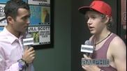 One Direction - Найл дава интервю за Ralphie Radio